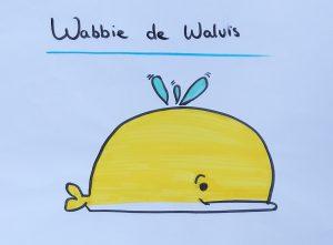 Wabbie de walvis